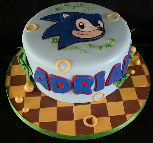 Sonic Cake Sonic The Hedgehog Cake For An All Grown Up