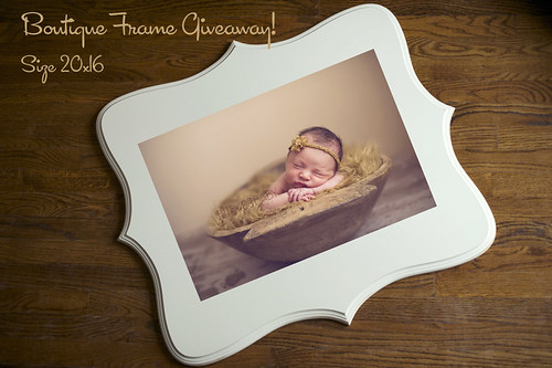 Bitsy Baby Photography frame giveaway | by Bitsy Baby Photography [Rita]