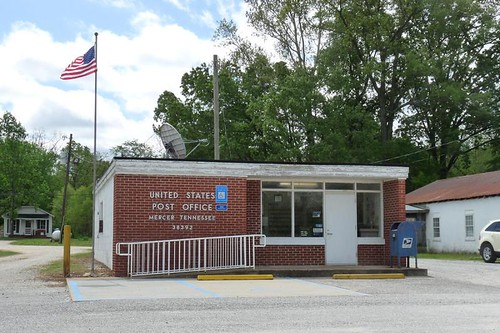 Mercer, TN post office | by PMCC Post Office Photos