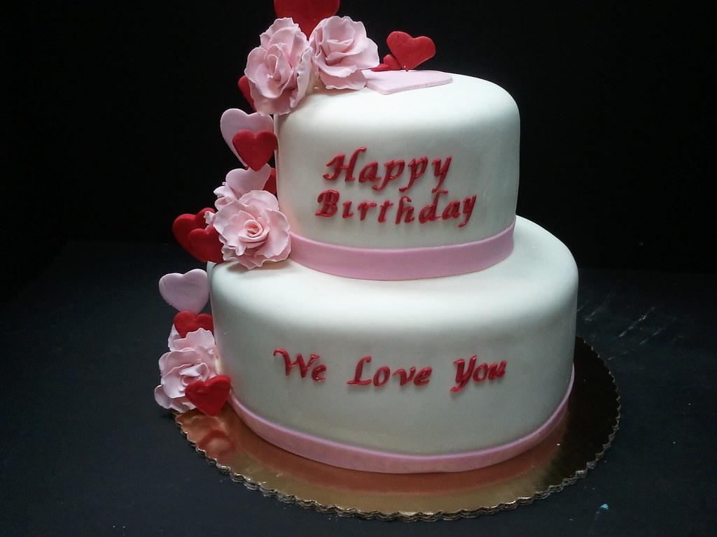 Sweetheart Birthday Cake Drago Sisters Bakery Flickr