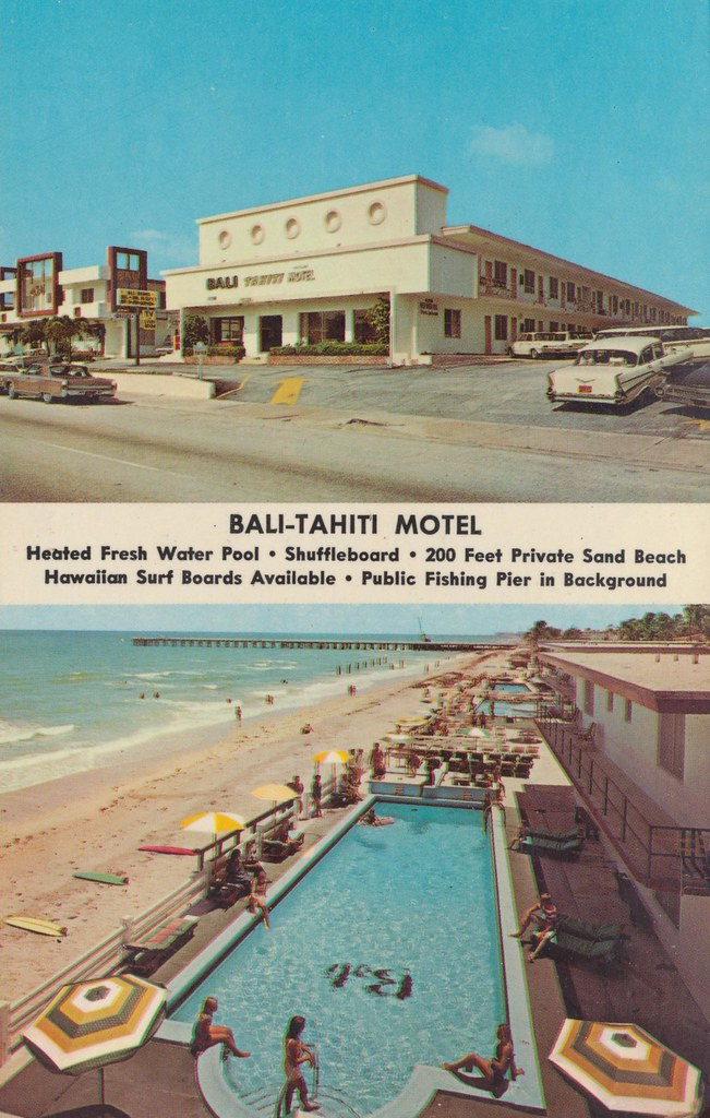 Bali-Tahiti Motel - Miami Beach, Florida