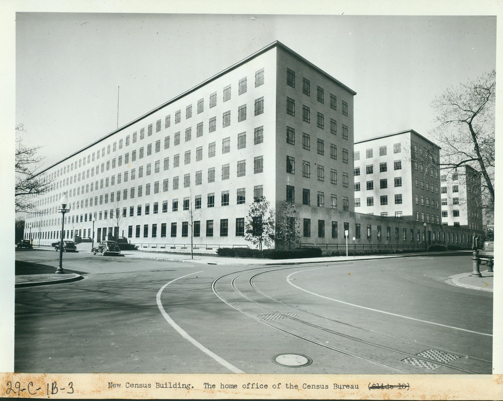 New Census Building,the Home Office of the Census Bureau, … | Flickr