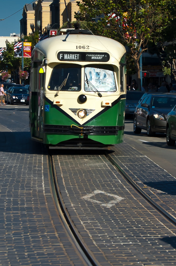 USA / California / San-Francisco / Green Tram 02