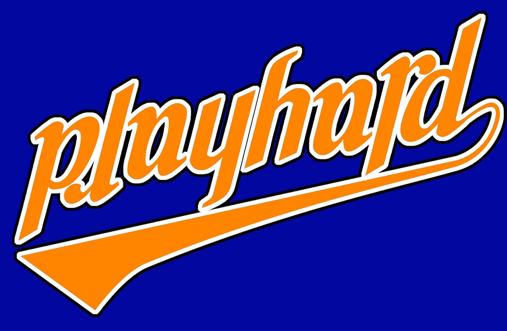 i tried the baseball like font with new york knicks color flickr rh flickr com