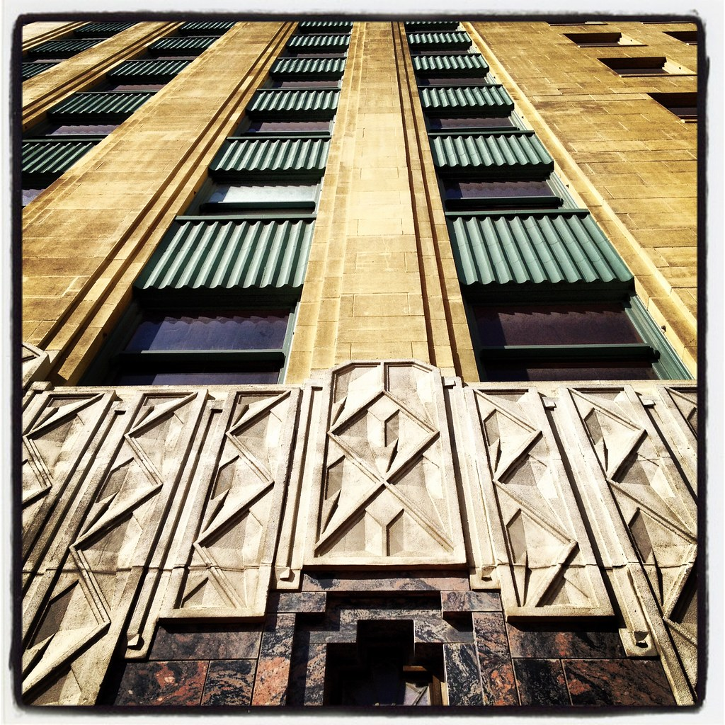Zig Zag Moderne Architecture Art Deco Fort Worth Texas IMG…   Flickr