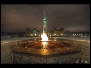 Centennial Flame | by David Crombie Photography