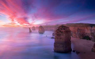 Sunset At Twelve Apostles | by Greg Weeks Photography