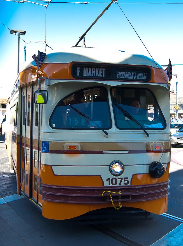 USA / California / San-Francisco / Orange Tram 01