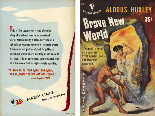 an analysis of the topic of the novel brave new world by aldous huxley Brave new world by aldous huxley by aldous huxley  when the novel brave new world first appeared in 1932, its shocking analysis of a scientific.