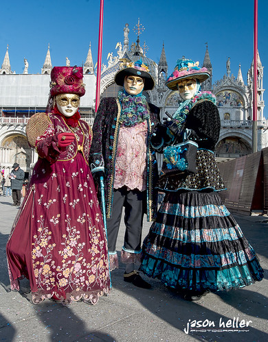 Costumes in San Marco Square | by jason-heller