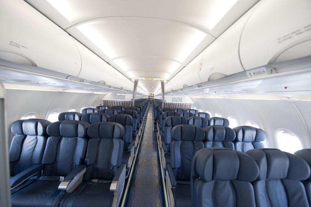 SATA Internacional Airbus A320 interior   KEEPING TRAVEL AHEAD   Flickr