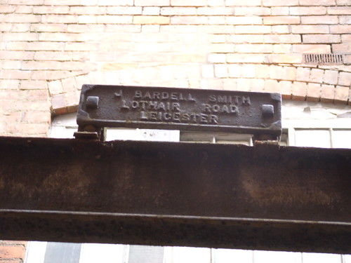 Iron-mongers plate on Makers' Yard gangway | by LCB Depot