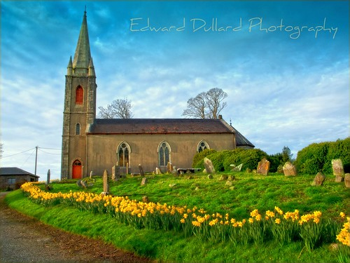 Aghade church at Springtime. | by Edward Dullard Photography. Kilkenny, Ireland.