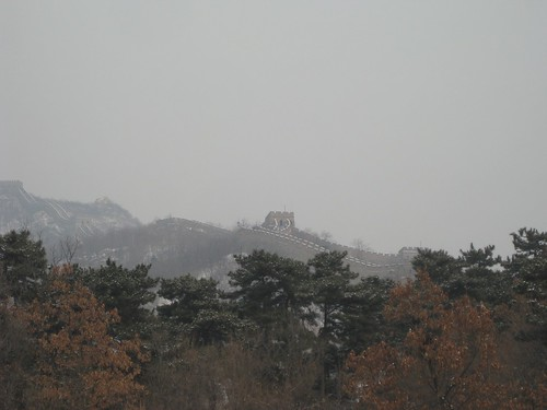 Great Wall over trees. | by meherenow