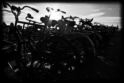 Amsterdam Central Station Bicycles | by Michael Shoop