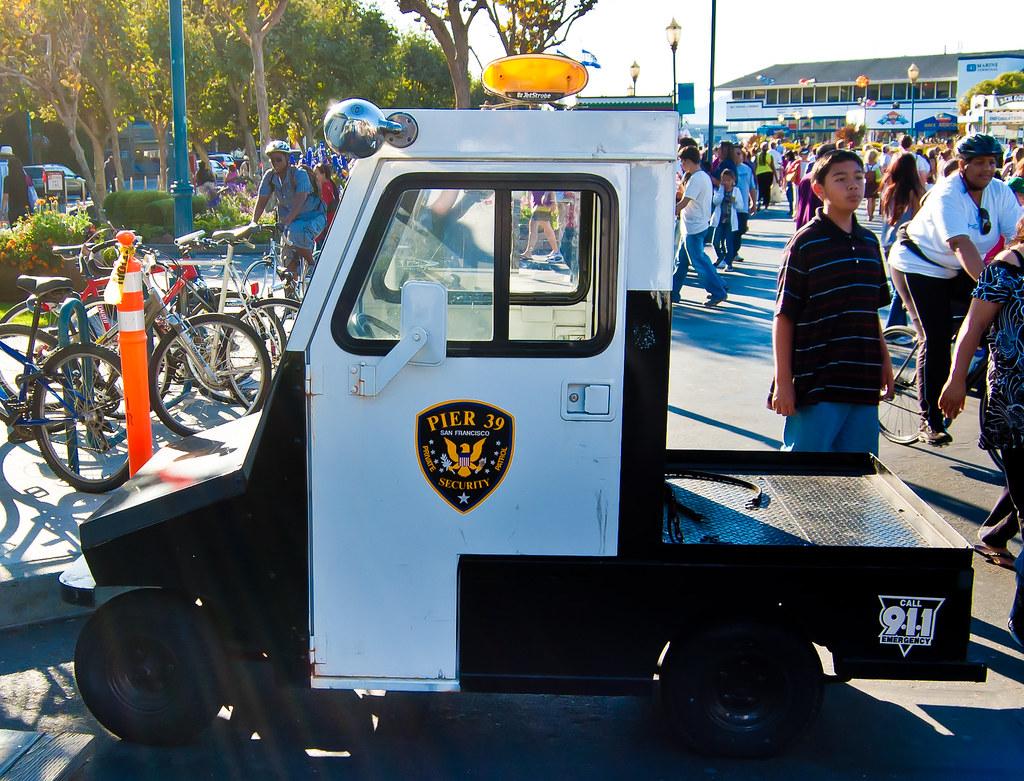 USA / California / San-Francisco / Police Car