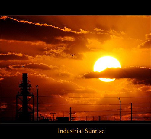 Industrial Sunrise | by ShacklefordPhotoArt
