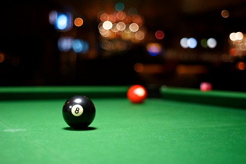 Eight-ball. Ozebi, Utrecht | by Dominik Morbitzer