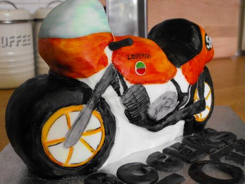 Motorbike Birthday Cake Designs