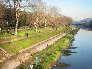 Firenze Cascine. L'Arno dalla Passerella dell'Isolotto - Florence Cascine. The River Arno by Footbridge Isolotto | by Buonaventura's & Carla's