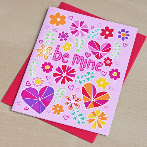 Be Mine Card | by Camp Smartypants
