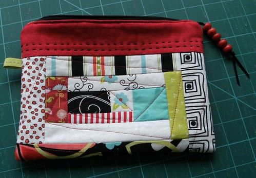 Mouthy Pouch done (1) | by bluepatchquilter