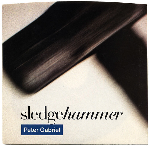 sledgehammer, Peter Gabriel | by Bart&Co.