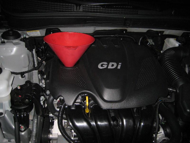 Great ... 2011 Hyundai Sonata   Theta II 2.4L GDI Engine   Oil Change U0026 Filter  Replacement