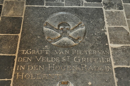 Grave monument of Pieter van den Velde | by Michiel2005