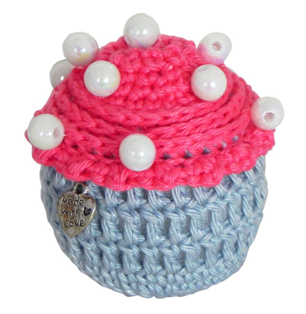 Crocheted Cupcake Marlou Van Der Vliet Flickr