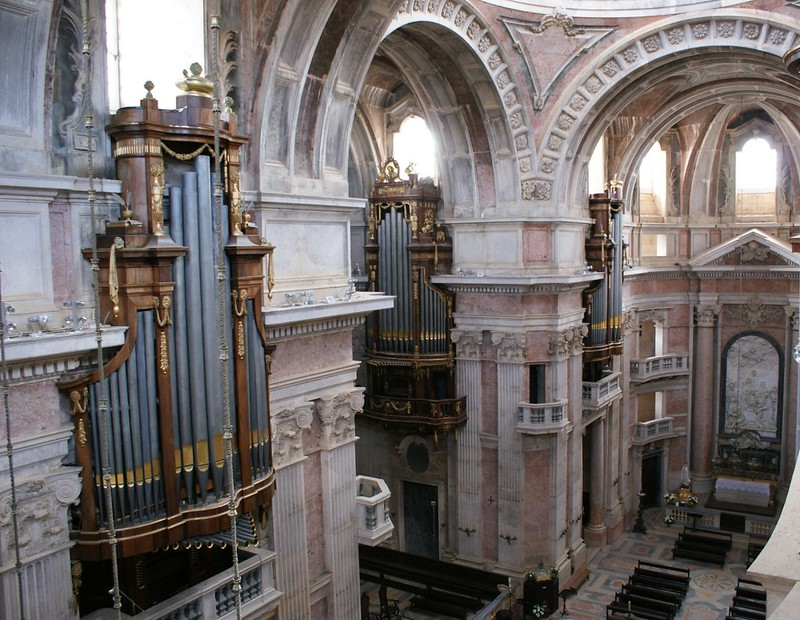 The Six Historical Organs of the Basilica of Mafra, PORTUGAL