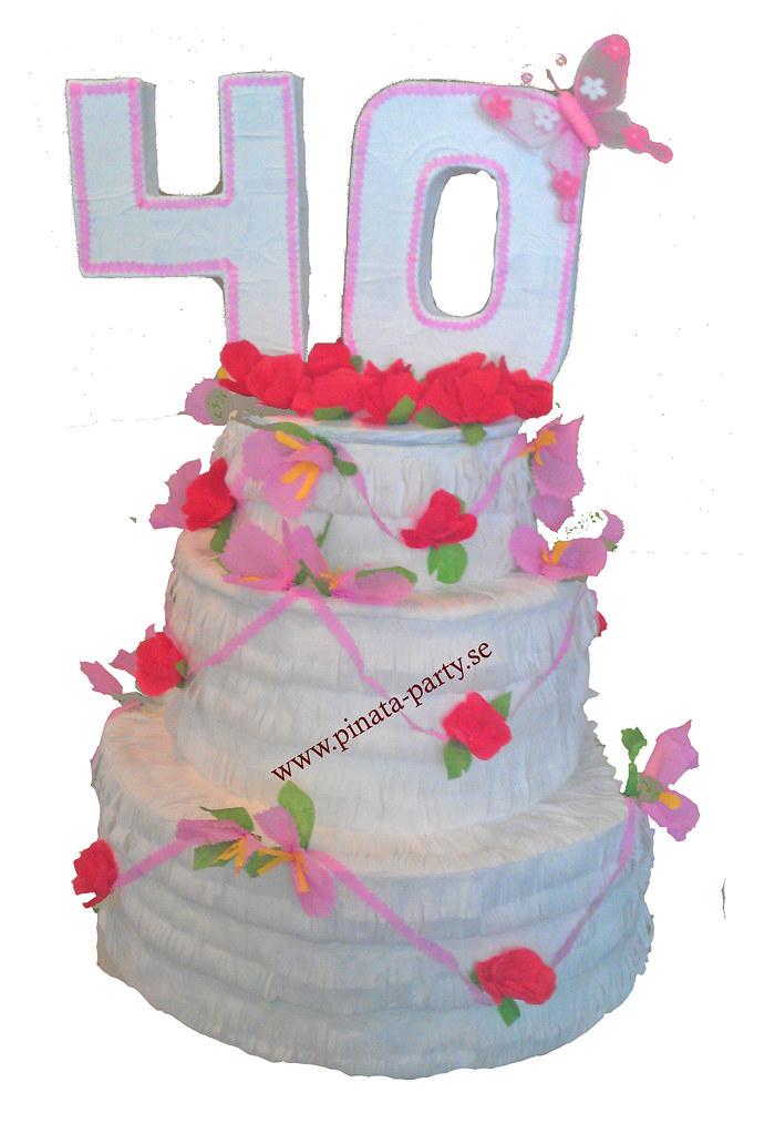 tårta 40 år tårta 40 år | Pinata Party | Flickr tårta 40 år