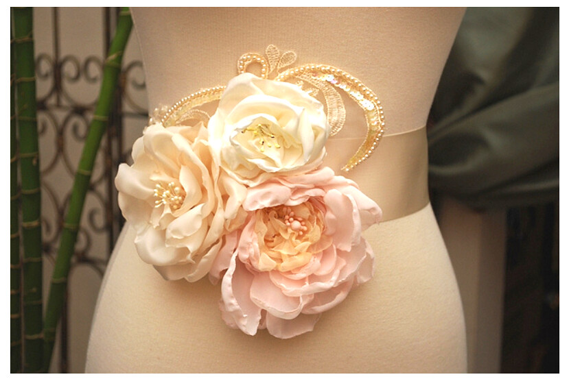 Handmade Silk Organza Flowers I Created These Burnt Edge Flickr