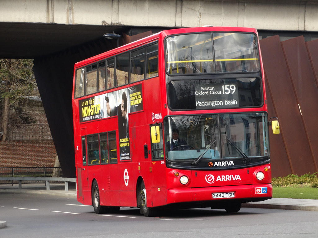 London red bus route number 2 operated by Arriva no advertising ...