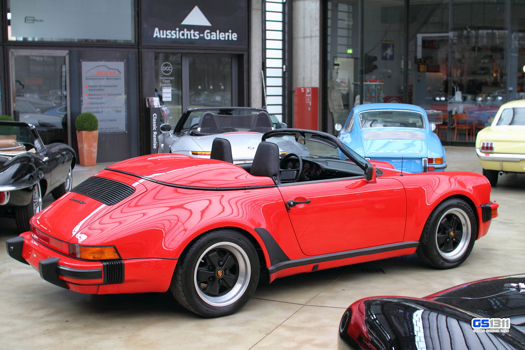 1989 Porsche 911 Carrera G Modell Speedster Turbo Look Flickr