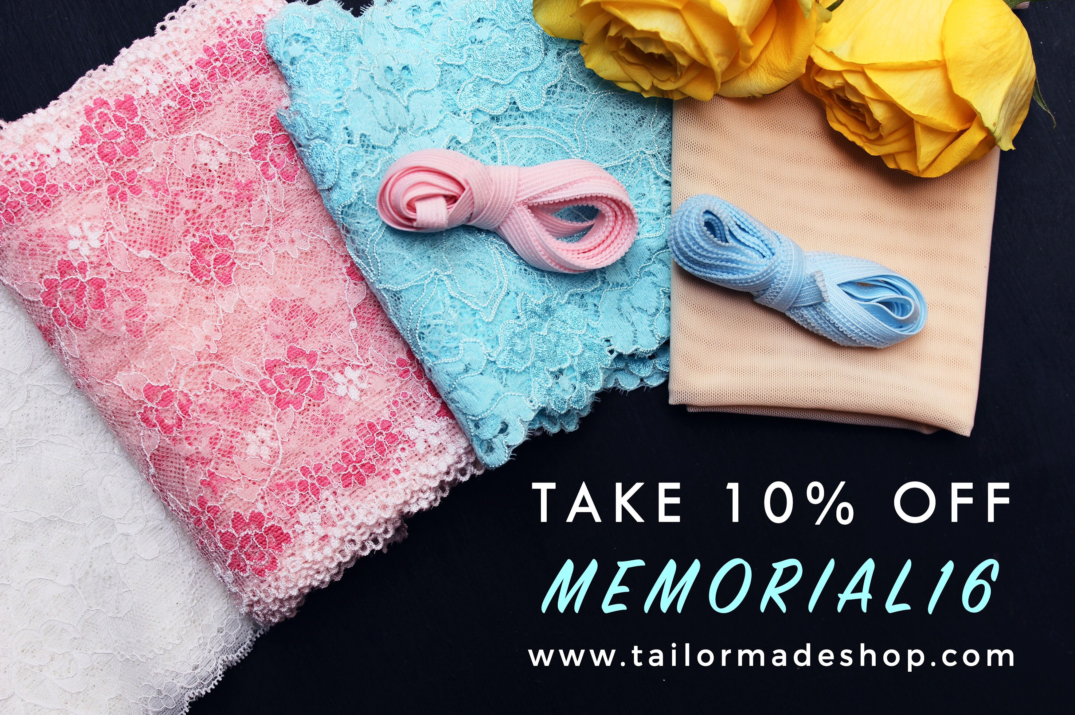 Tailor Made Shop Discount Bra Making Memorial Day Sale