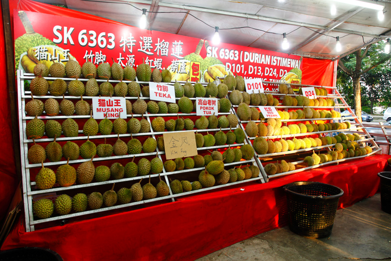 SK6363 Kepong Durian Stall