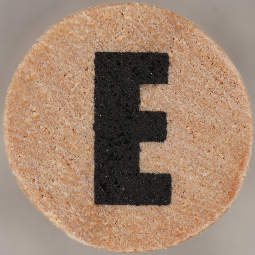 Studio G Stamp Set Block Letter E  Leo Reynolds  Flickr