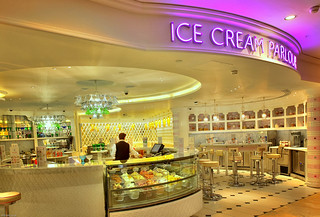 The Ice Cream Parlour Inside Harrods (HDR) | by eFRAME.co.uk