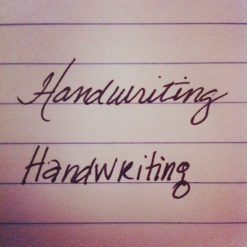 Handwriting.  #FEBphotoaday | by jenwcom