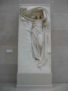Daniel Chester French  - Mourning Victory, Metropolitan Museum of Art | by popea53