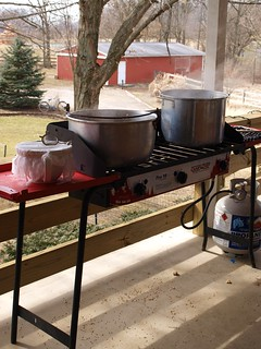 My Outdoor Syrup Making Work Station! | by Shutterfool