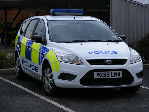 1444 - GMP - Greater Manchester Police - Ford Focus Estate Response Cell Car - MX59 LNW | by Call the Cops 999