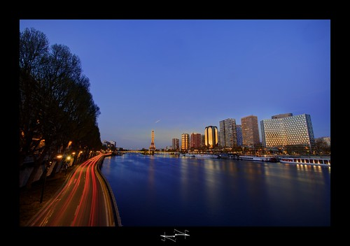 Paris sunset By D.F.N. | by '^_^ Damail Nobre ^_^'