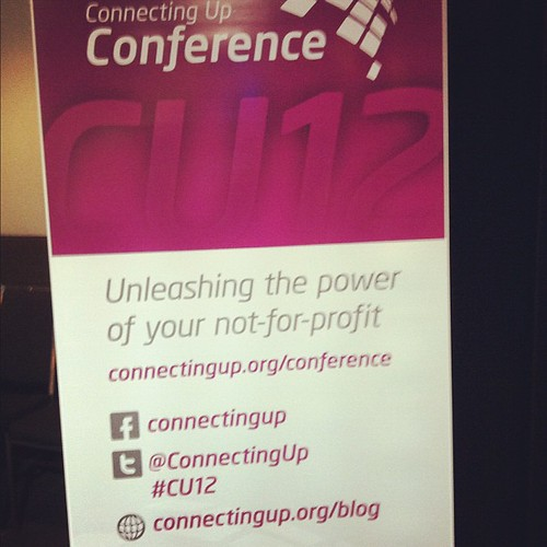 Delayed post of #cu12 conference banner... | by Shai Coggins