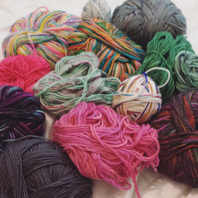 Going to start some scrappy socks