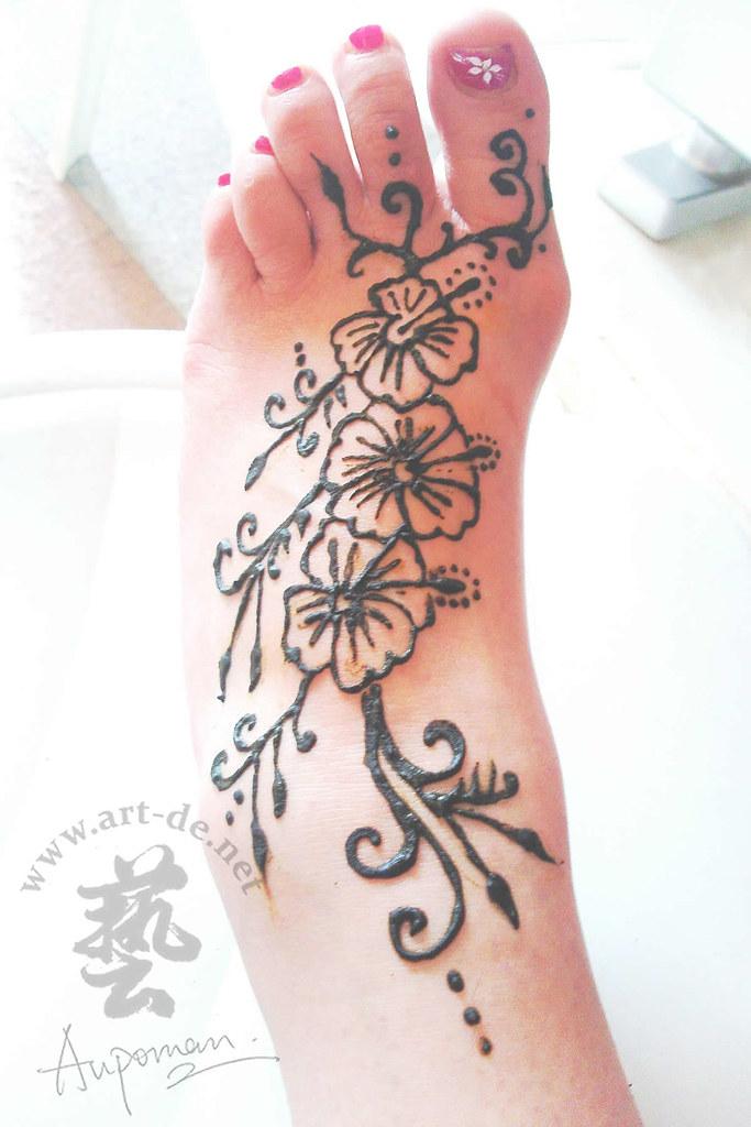 Aupoman Hk Henna Tattoo Foot Henna Tattoo By Aupoman In Hk Flickr