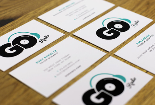 GoRadio Business Cards | by McMillianCo
