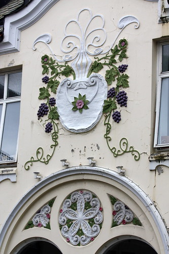 Jugendstil with grapes | by Erika & Rüdiger