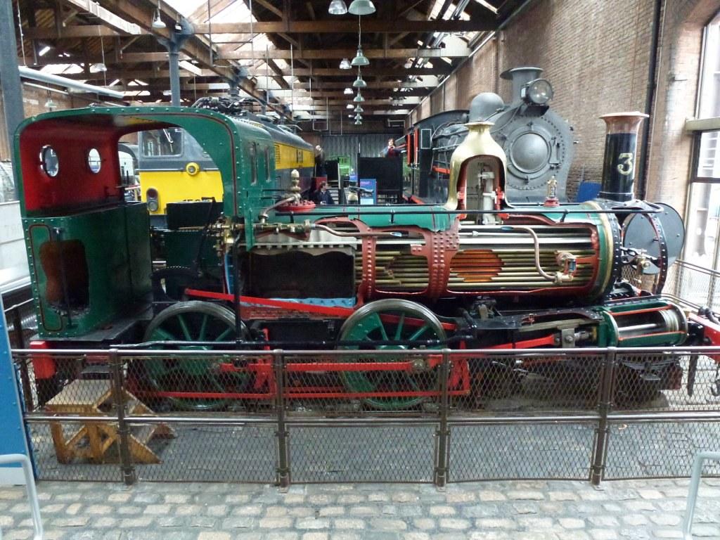 Anatomía de una locomotora de vapor | Steam locomotive cutaw… | Flickr